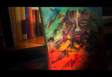 As Luck Would Have It – Time Lapse Painting & Poem 'The Aching' by @CandyAcidReign